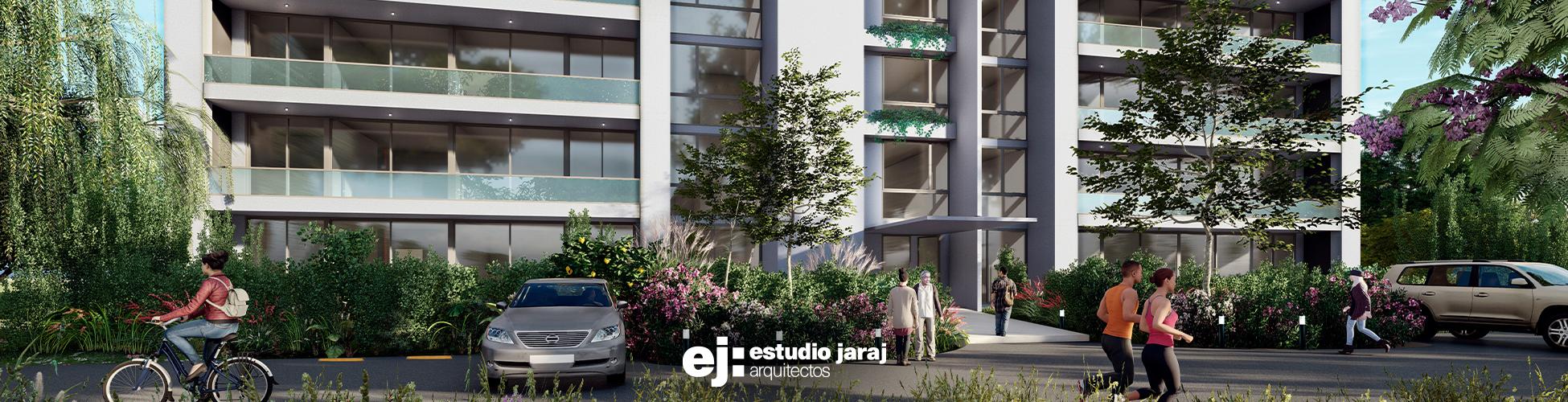 vista frente edificio diurna